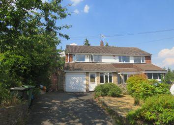Thumbnail 3 bed semi-detached house for sale in Shelton Lane, Halesowen