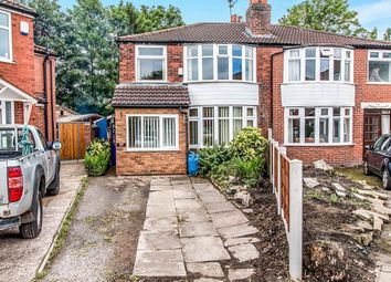 Thumbnail 3 bed semi-detached house for sale in Arthog Road, Didsbury, Manchester