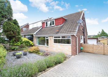 Thumbnail 3 bed semi-detached house for sale in Elmroyd, Rothwell, Leeds