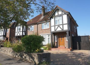 Thumbnail 3 bedroom semi-detached house for sale in Elmcroft Drive, Hook, Chessington