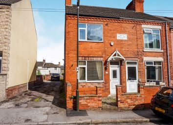 Thumbnail 2 bedroom end terrace house for sale in Coronation Street, Whitwell