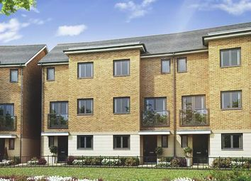 Thumbnail 3 bed town house for sale in The Spruce At Springhead Park, Wingfield Bank, Northfleet, Gravesend