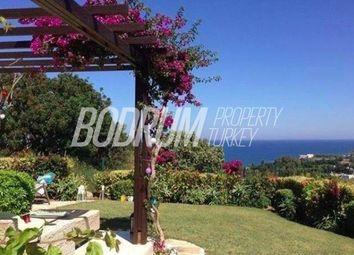 Thumbnail 3 bedroom villa for sale in Gumusluk, Aegean, Turkey