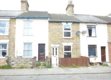 Thumbnail 2 bed terraced house to rent in St. Leonards Road, Lowestoft