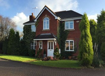 Thumbnail 4 bed detached house to rent in Redacre Close, Dutton, Warrington