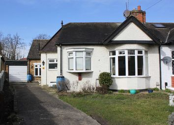 Thumbnail 3 bedroom semi-detached bungalow to rent in Hillside Close, Woodford Green