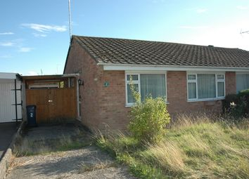 Thumbnail 2 bedroom semi-detached bungalow for sale in 2 Avondale Gardens, Gillingham, Dorset