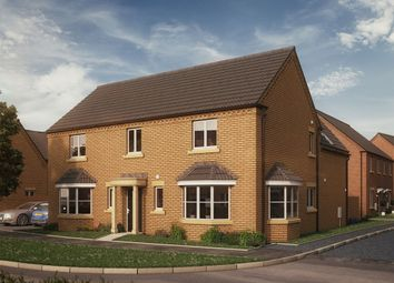 "Thumbnail 4 bed detached house for sale in ""The Lyveden"" at Glapthorn Road, Oundle, Peterborough"