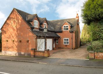Thumbnail 4 bed detached house for sale in Main Street, Peckleton, Leicester
