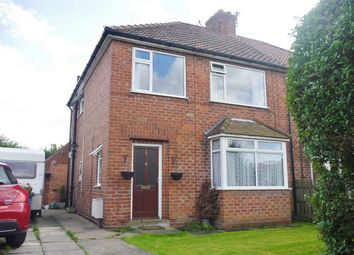 Thumbnail 3 bed semi-detached house for sale in North Moor, Huntington, York