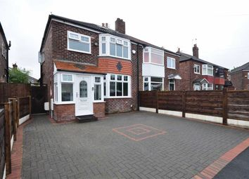 Thumbnail 3 bed semi-detached house for sale in Marton Grove, Heaton Chapel, Stockport, Greater Manchester