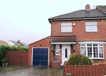 Thumbnail 3 bed semi-detached house for sale in Harelaw Grove, West Denton, Newcastle Upon Tyne