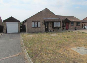 Thumbnail 3 bed semi-detached bungalow for sale in Vaux Avenue, Dovercourt, Harwich