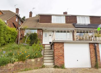 Thumbnail 3 bed semi-detached house for sale in Bankside, Brighton