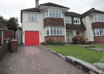 Thumbnail 4 bedroom semi-detached house to rent in Harbury Road, Carshalton