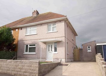 Thumbnail 3 bed semi-detached house for sale in Llanerch Crescent, Swansea