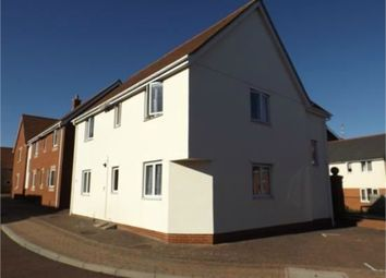 Thumbnail 2 bed flat for sale in Hakewill Way, Colchester, Essex