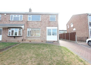 Thumbnail 3 bed semi-detached house for sale in Begonia Drive, Burbage, Hinckley