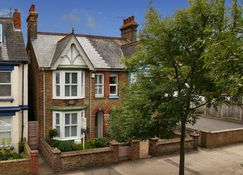 Thumbnail 3 bed semi-detached house for sale in Cromwell Road, Whitstable, Kent