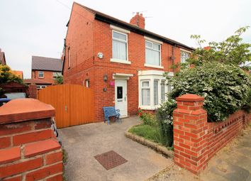 Thumbnail 4 bed semi-detached house to rent in Belvere Avenue, Blackpool, Lancashire