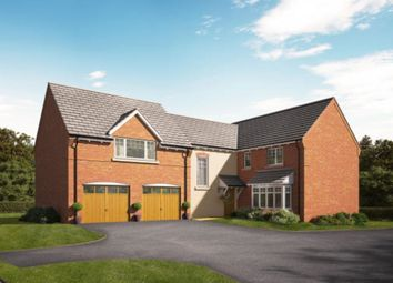 Thumbnail 4 bedroom detached house for sale in The Hollies, Gnosall, Stafford