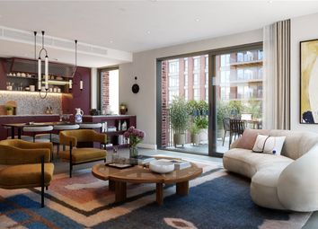 Embassy Gardens, Ponton Road, Nine Elms, Vauxhall, London SW8. 2 bed flat for sale