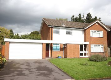 Thumbnail 4 bed detached house for sale in Oaken Drive, Solihull