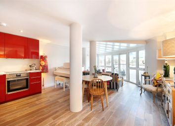 Thumbnail 2 bed flat for sale in River View Heights, 27 Bermondsey Wall West, London