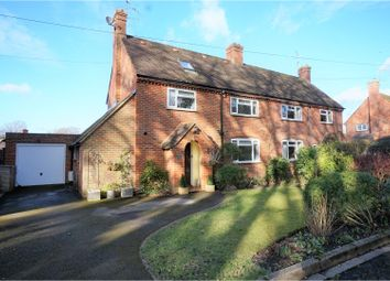 Thumbnail 4 bed semi-detached house for sale in West Green, Yateley