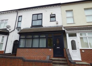Thumbnail 3 bed terraced house for sale in Fernley Road, Sparkhill, Birmingham, West Midlands