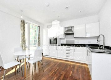 Thumbnail 1 bed flat to rent in Gooch House, 2 Telcon Way, London
