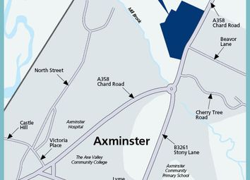 "Thumbnail 4 bed property for sale in ""The Saxony"" at Chard Road, Axminster"