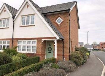 Thumbnail 3 bed semi-detached house for sale in Pynkeny Close, Earls Barton, Northampton