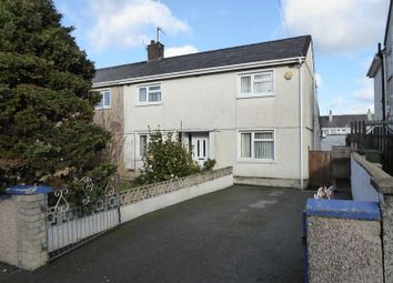 Thumbnail 3 bed semi-detached house for sale in Ffordd Wern, Caernarfon