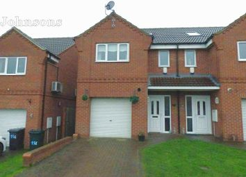 Thumbnail 3 bed end terrace house for sale in Westerdale Road, Scawsby, Doncaster.