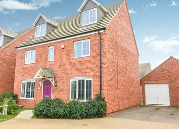 Thumbnail 5 bedroom detached house for sale in Mayfly Road, Pineham, Northampton