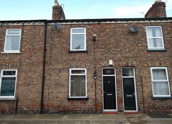 Thumbnail 2 bed terraced house for sale in Milner Street, York