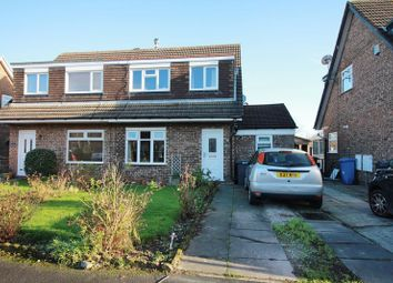 Thumbnail 3 bed semi-detached house for sale in Knaresborough Close, Poulton-Le-Fylde