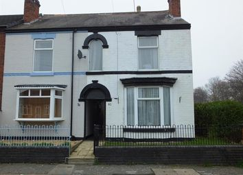Thumbnail 3 bed end terrace house for sale in Beech Lane, Stretton, Burton-On-Trent