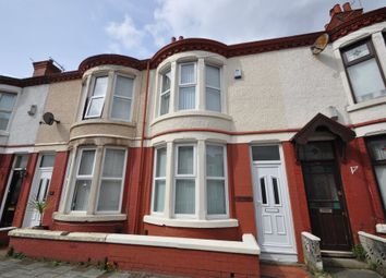 Thumbnail 2 bed terraced house for sale in Trentham Road, Wallasey
