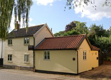 Thumbnail 3 bed cottage for sale in The Street, Walsham-Le-Willows, Bury St. Edmunds