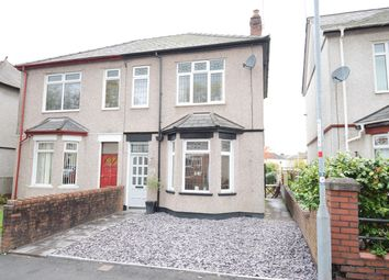 Thumbnail 3 bed semi-detached house for sale in Aston Crescent, Newport