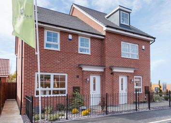 "Thumbnail 3 bedroom semi-detached house for sale in ""Maidstone"" at Tiber Road, North Hykeham, Lincoln"