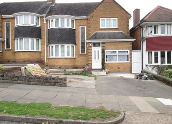 Thumbnail 3 bed semi-detached house to rent in Manor House Lane, Yardley, Birmingham