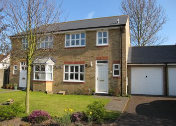Thumbnail 2 bedroom semi-detached house for sale in St. Georges Road, Sandwich