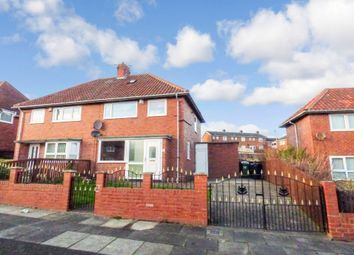 Thumbnail 3 bedroom semi-detached house for sale in Aycliffe Avenue, Gateshead