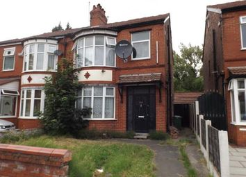 Thumbnail 3 bed semi-detached house for sale in Moseley Road, Levenshulme, Manchester, Greater Manchester