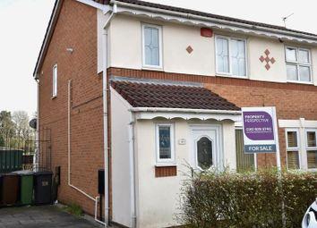 Thumbnail 3 bed semi-detached house for sale in Saxon Drive, Droylsden, Manchester