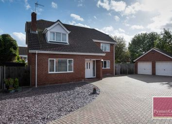 Thumbnail 5 bed detached house for sale in Broadland Drive, Thorpe End, Norwich