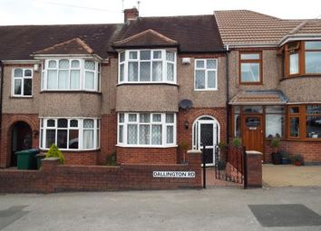 3 bed terraced house for sale in Dallington Road, Coundon, Coventry, West Midlands CV6